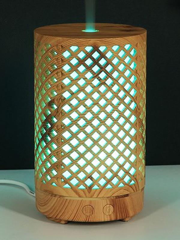 Banzai Organics Floris Naturals Bamboo Oil Diffuser Night Light