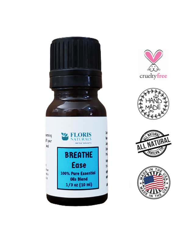 Banzai Organics - Floris Naturals Breathe Ease and Allergy Synergy Blend