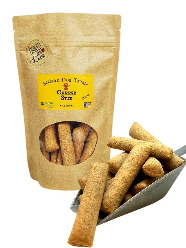 Banzai Organics - Floris Naturals Cheese Stix Dog Treats