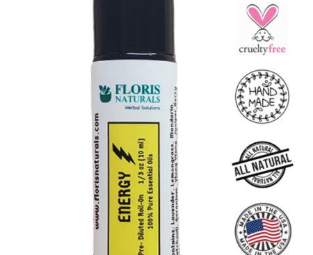 Banzai Organics - Floris Naturals Energy Synergy Roll-On Blend Aromatherapy