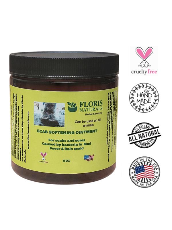 Banzai Organics - Floris Naturals Equine Scab Softening Ointment