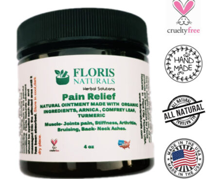 Banzai Organics - Floris Naturals Joints Bruise Pain Relief Arthritis Muscle Pain Ointment