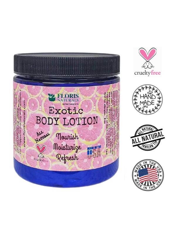 Banzai Organics - Floris Naturals Natural Body Lotion (Exotic Grapefruit)