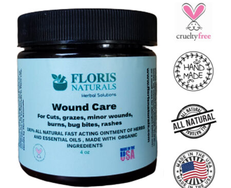 Banzai Organics - Floris Naturals Natural Wound Care Ointment