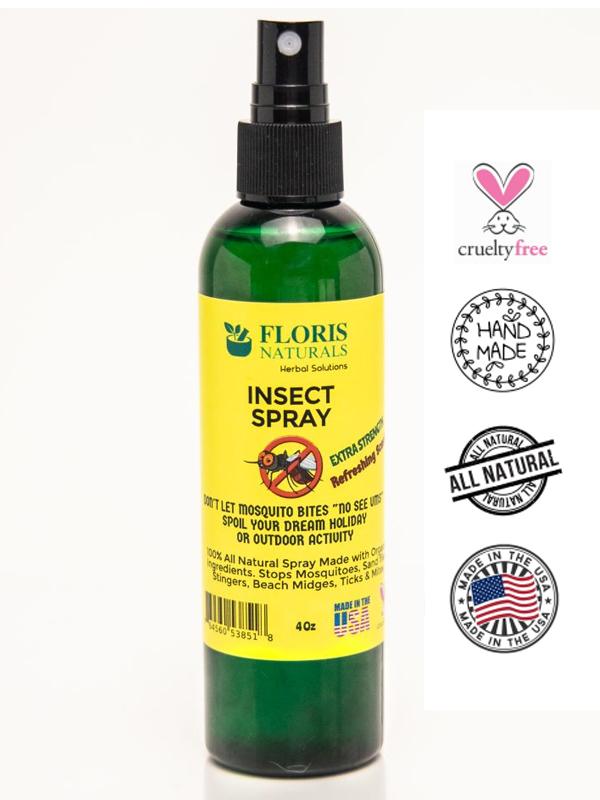 Banzai Organics - Floris Naturals Organic Bug Spray