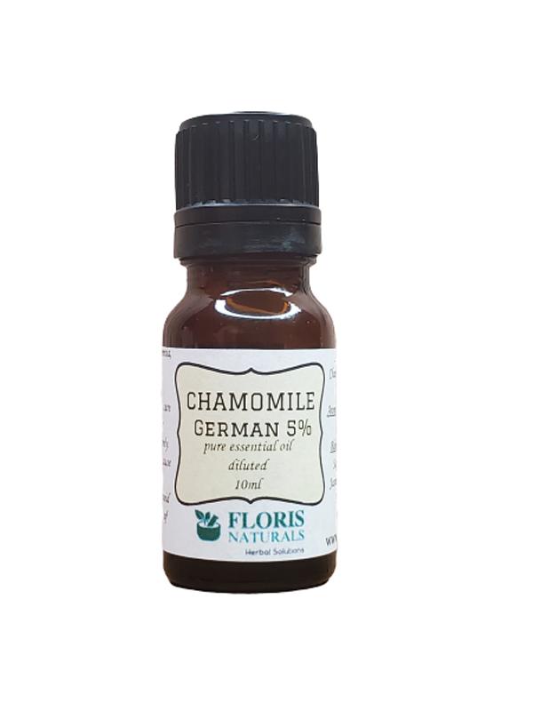 Banzai Organics - Floris Naturals Organic German Chamomile Essential Oil Aromatherapy