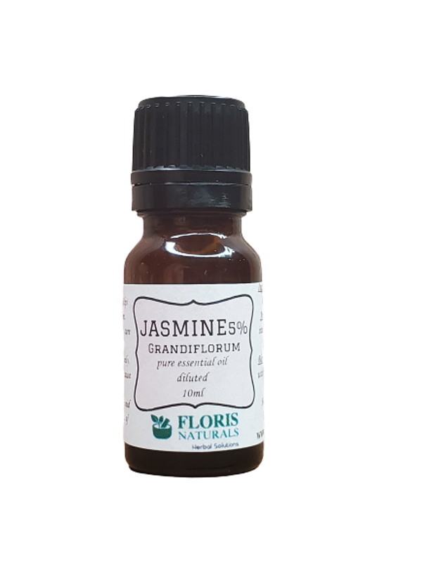 Banzai Organics - Floris Naturals Organic Jasmine Essential Oil Aromatherapy