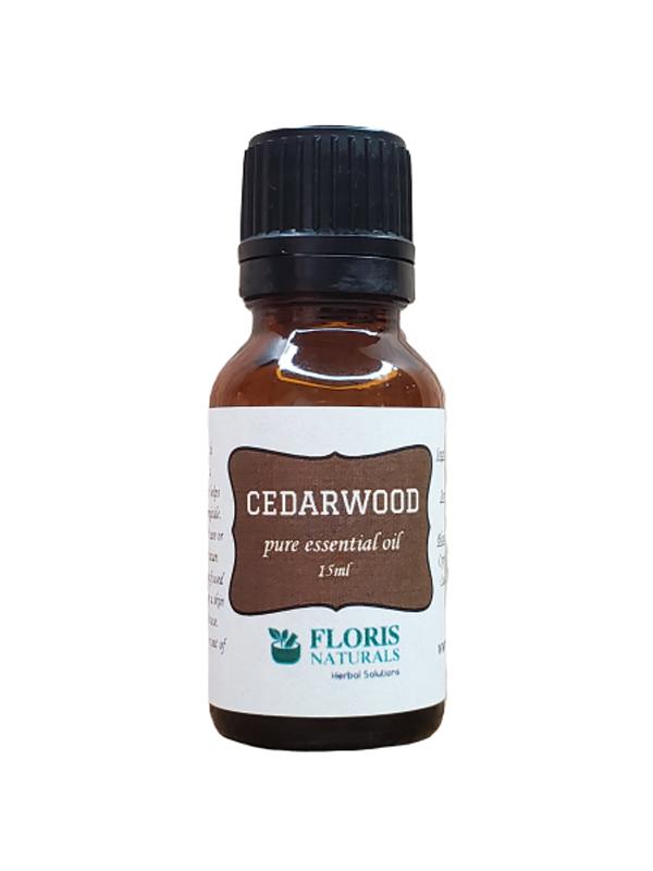 Banzai Organics - Floris Naturals Pure Natural Organic Cedarwood Essential Oil Aromatherapy