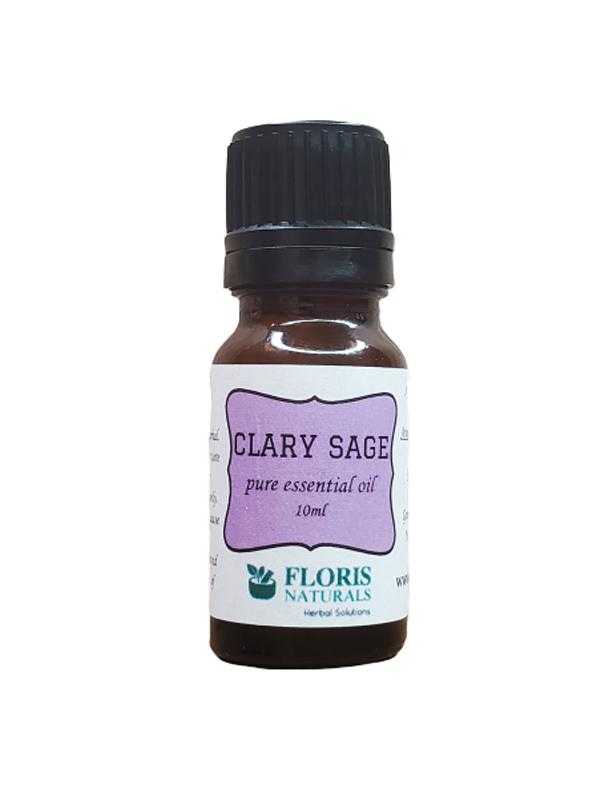 Banzai Organics - Floris Naturals Pure Natural Organic Clary Sage Essential Oil Aromatherapy