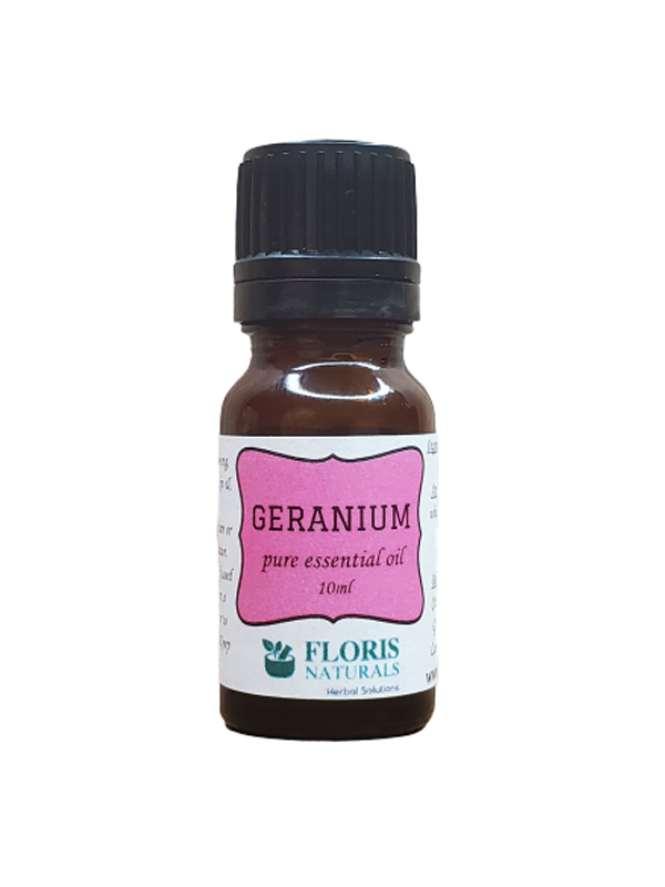 Banzai Organics - Floris Naturals Pure Natural Organic Geranium Essential Oil Aromatherapy