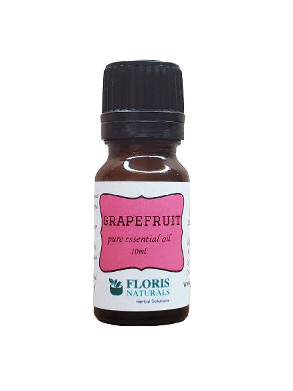 Banzai Organics - Floris Naturals Pure Natural Organic Grapefruit Essential Oil Aromatherapy