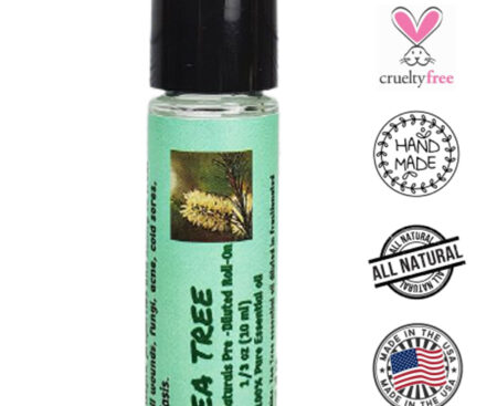 Banzai Organics - Floris Naturals Tea Tree Roll-On Blend Aromatherapy