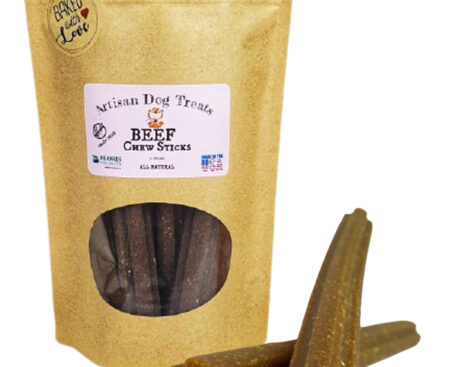 Banzai Organics - Floris Naturals beef sticks natural organic dog treats