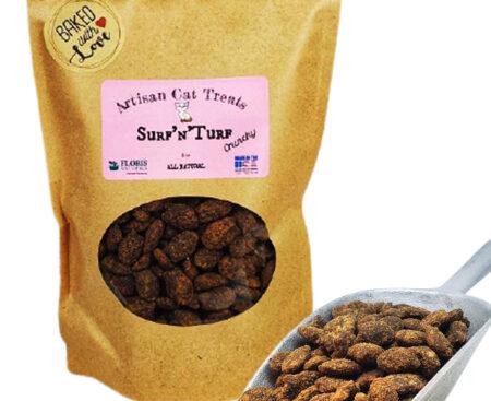 Banzai Organics - Floris Naturals surf and turf natural organic cat treats