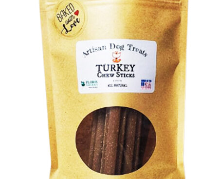 Banzai Organics - Floris Naturals turkey sticks natural organic dog treats