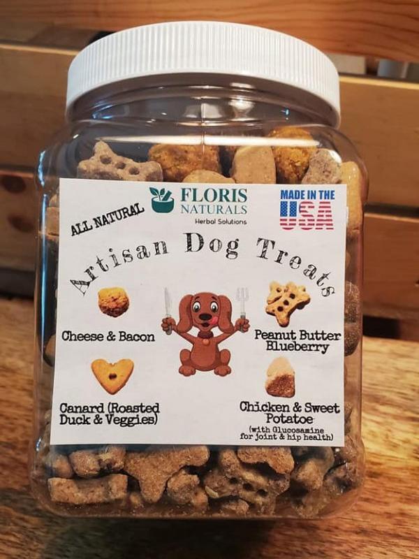 Banzai Organics - Floris Naturals Best Natural Dog Treats