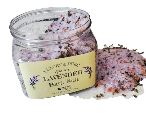 Floris Naturals Luxury Epsom Lavender Bath Salt